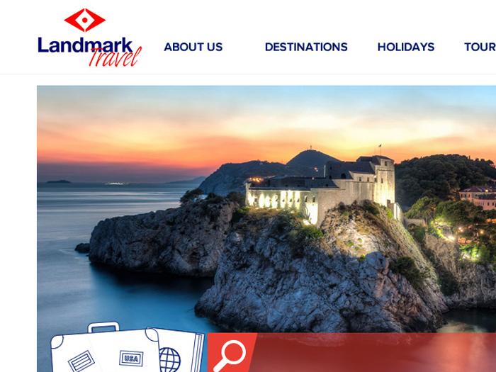 New website for Landmark Travel