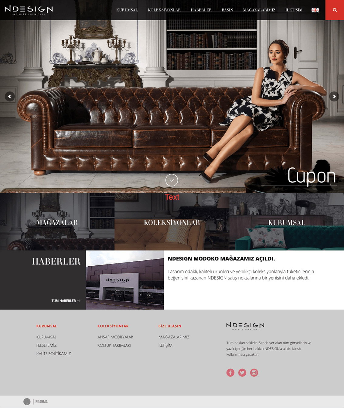 Web Site Design for NDesign